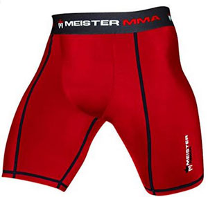 Meister MMA Compression Rush Fight Shorts with Cup Pocket