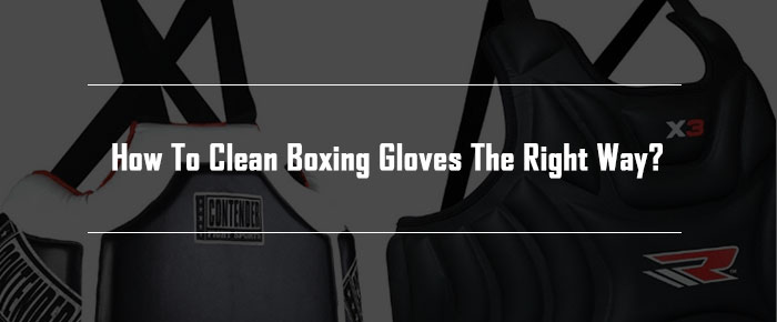 Clean Boxing Gloves