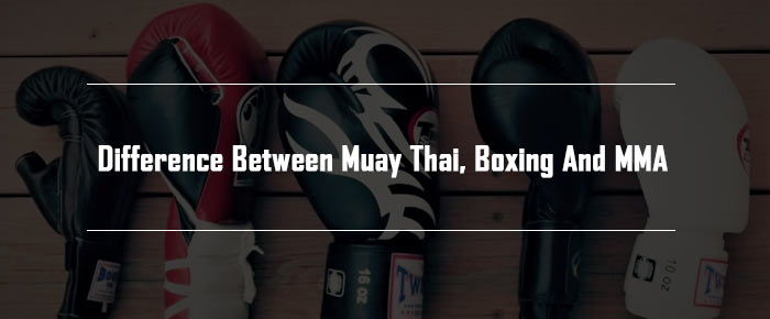 Difference Between Muay Thai, Boxing, and MMA