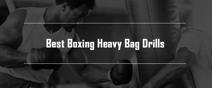 boxing heavy bag drills